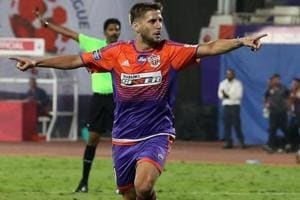 Emiliano Alfaro is currently the top scorer for his side in this Indian Super League season with nine goals and thanks to his heroics, FC Pune City were able to secure their maiden ISLplay-off berth (semifinals vs Bengaluru FC) with one game to spare.