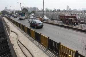 The bearings of this bridge have worn off and the PWD is planning to change them in six months.