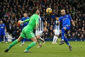 Premier League: Leicester City thrash West Brom; West Ham beaten by...
