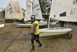 Harshita Tomar, 16, is from small-town Hoshangabad in Madhya Pradesh, a landlocked state where lakes substitute for the ocean. But she's been winning national sailing races. 'I'm trying out for the Asian Games in August,' she says.