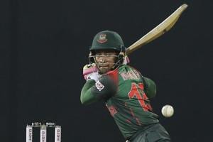 Follow highlights of Sri Lanka vs Bangladesh, Nidahas Trophy tri-nation T20 match in Colombo here. Mushfiqur Rahim in action during the Nidahas Trophy tri-nation T20 between Sri Lanka and Bangladesh in Colombo.