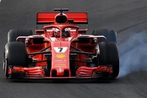 Formula One: Ferrari'sKimi Raikkonen fastest on final day of F1...