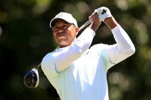 'Good day' leaves Tiger Woods two strokes off lead at Valspar...