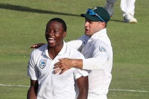 Kagiso Rabada restores South African ascendancy in second Test against...