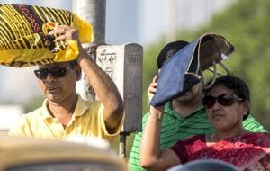 Mumbai had recorded one its its hottest March days on Sunday at 41 degrees Celsius.