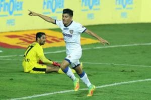 Chennaiyin FC'scored an important away goal as they played a 1-1 draw...