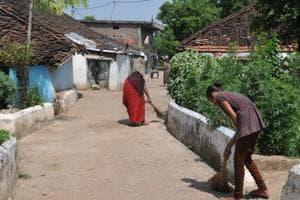 Removal of 18,000 sanitation staff from Rajasthan gram panchayats...
