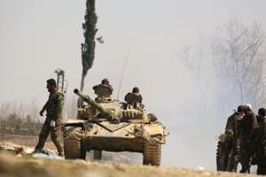 Syrian army cleaves rebel enclave of Ghouta: State TV