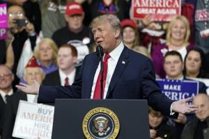 Donald Trump unveils campaign slogan for 2020 — Keep America Great
