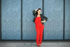 Bring on the pantsuits and bright colours! 80s fashion is making a...