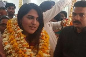 Gurgaon woman, a doctor in the making, elected sarpanch in Mewat