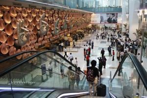 The Yamuna Expressway Industrial Development Authority (Yeida) said it is mulling several options to connect the Delhi's IGI airport (above) with the proposed airport in Greater Noida's Jewar. It may also include a high-speed Metro link.