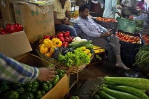 February's consumer price inflation slowed to 4.44%.