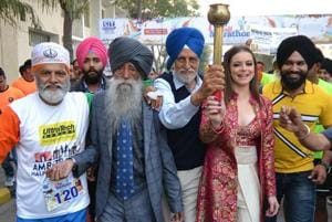 Love and respect keep me going, says centenarian runner Fauja Singh