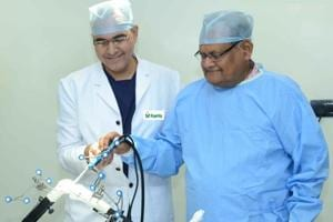 State's first robotic joint replacement in Jaipur