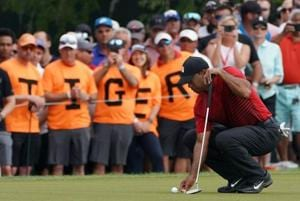 Tiger Woods upbeat but rues 'little mistakes' after Valspar...