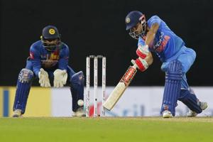 Manish Pandey and Dinesh Karthik guided India to a six-wicket win over SriLanka in the fourth match of the Nidahas Trophy 2018 T20 tri-series at the RPremadasa Stadium in Colombo tonight. Get highlights of India vs SriLanka, Nidahas Trophy 2018, here.