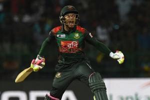 Bangladesh cricket team's Mushfiqur Rahim said that his side was able...