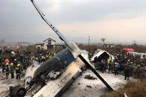 Photos: At least 50 dead as US-Bangla Airlines plane crashes at...