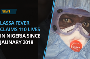 Lassa fever has claimed 110 lives in Nigeria since the beginning of...