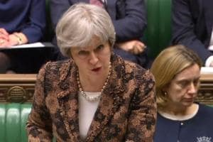 UK's May says 'highly likely' Russia behind nerve attack on spy