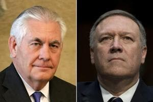 Trump fires secretary of state Rex Tillerson, taps CIA director Mike...