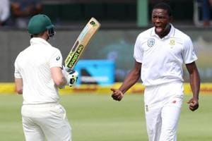 Kagiso Rabada tore through Australia in another spell of furious...