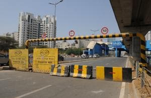 Four days after opening on trial, Genpact Chowk closed due to...