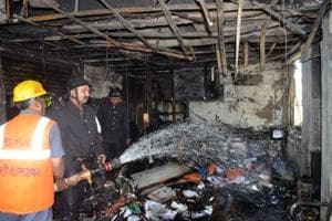 Fire breaks out in commercial complex near Mumbai, no one injured
