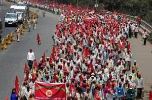 When Mumbai raged red with farmers' anger