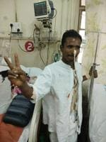 4-foot-long rod spears Nashik worker, docs from Mumbai's JJ hospital...