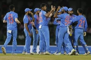 Get highlights of India vs Bangladesh, Nidahas Trophy 2018, here. The Indian cricket team beatBangladesh in the 5th match of the Nidahas Trophy 2018 T20 tri-series at the RPremadasa Stadium in Colombo tonight.