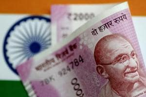 Rupee trades 9 paise lower against US dollar at 64.97