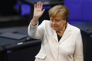 German lawmakers elect Angela Merkel to fourth term as chancellor