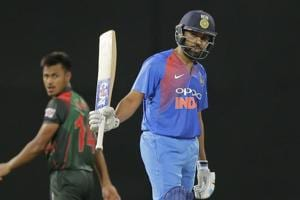 Rohit Sharma roars back to form with 89 vs Bangladesh in Nidahas...