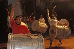 Gudi Padwa celebrations: Mumbaiites polish up their dhol-tasha skills