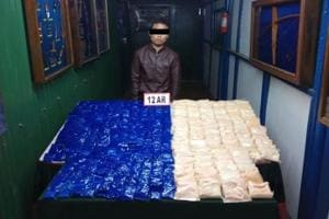 Assam Rifles recovers brown sugar, WY tablets worth over Rs 11 crore...