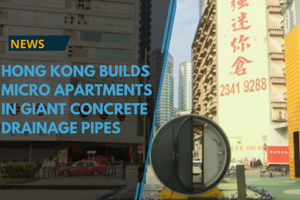 Hong Kong's notoriously expensive housing makes owning an affordable...