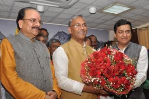 BJP's Anil Baluni enters Rajya Sabha, promises 'double engine' growth