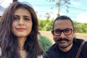 Fatima Sana Shaikh wishes 'tauji' Aamir Khan with pics from Thugs of...