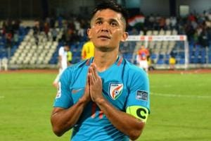 Indian football team climb three spots to re-enter top-100 in latest...