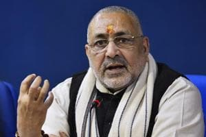 RJD win will make Araria hub of terrorism, says Giriraj Singh