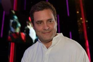 Congress president Rahul Gandhi arrives for an event in Kuala Lumpur on March 10.