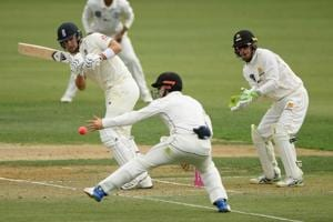 New Zealand-England pink ball warm-up game sees batsmen struggle