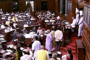 Congress protest against YSChowdary's remarks disrupts Rajya Sabha