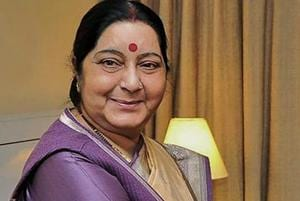 No new development at face-off site Doklam since August, says Sushma...