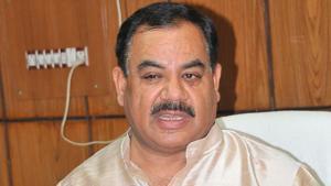 Forest minister Harak Singh Rawat.