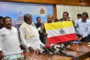 Karnataka state flag: Siddaramaiah does the balancing act among...
