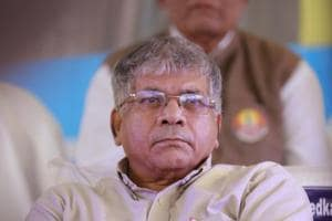 Prakash Ambedkar is the grandson of Dr Babasaheb Ambedkar, the architect of the Indian Constitution.
