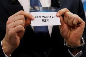 UEFAChampions League:Real Madrid face Juventus, Manchester City draw...